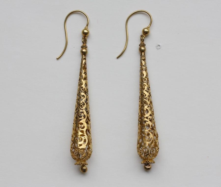 cagework earrings