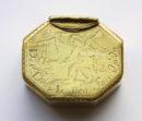 17th century copper box