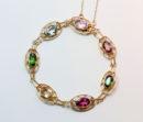 colorful gemset bracelet