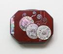 Japonese influenced chrysanthemum box