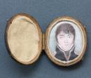 enamel portrait of a midshipman